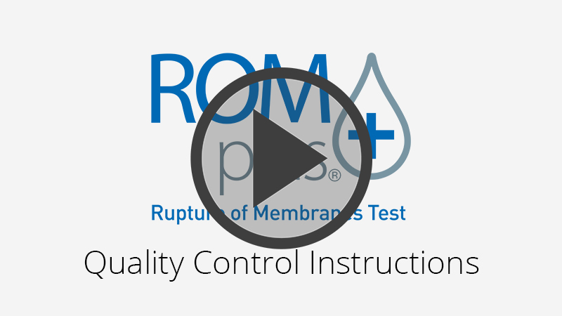 ROM Plus Quality Control Instructional Video