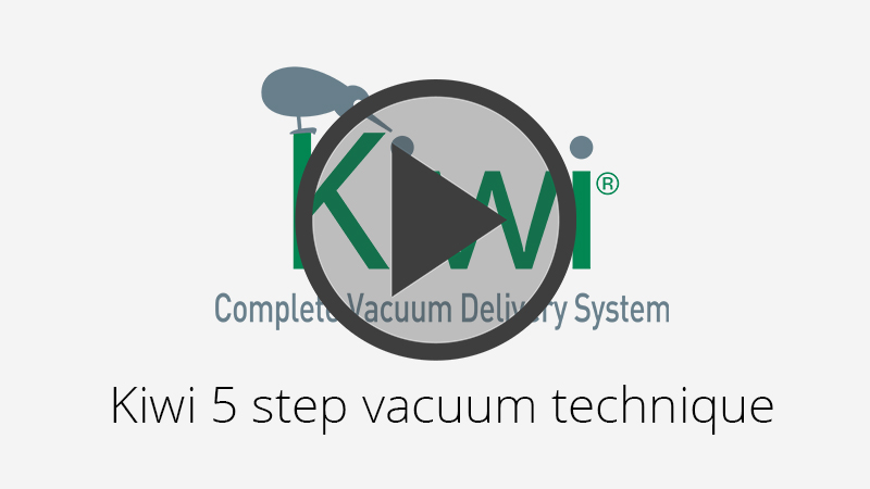 Kiwi 5 Step Vacuum Technique Video