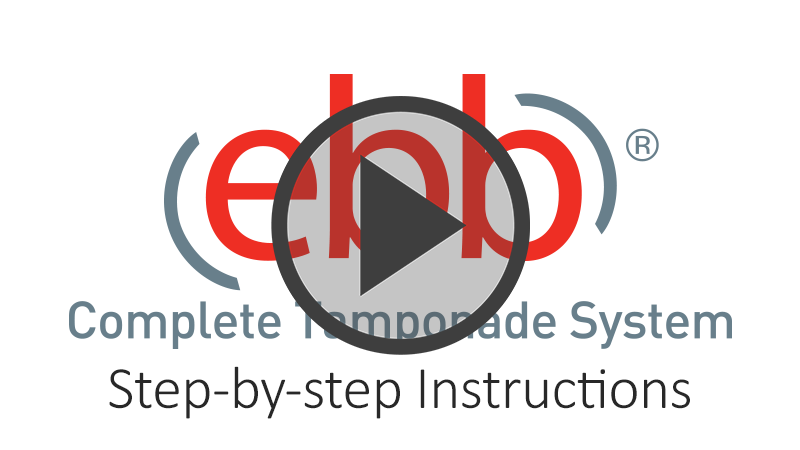 ebb Complete Tamponade System Step by Step Instructional Video