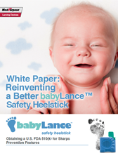 babyLance Safety Heelsticks whitepaper