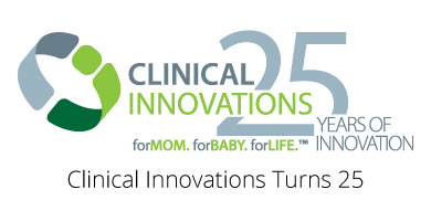Clinical Innovations 25-Year Anniversary Logo