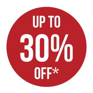 Up to 30 Percent Off Image